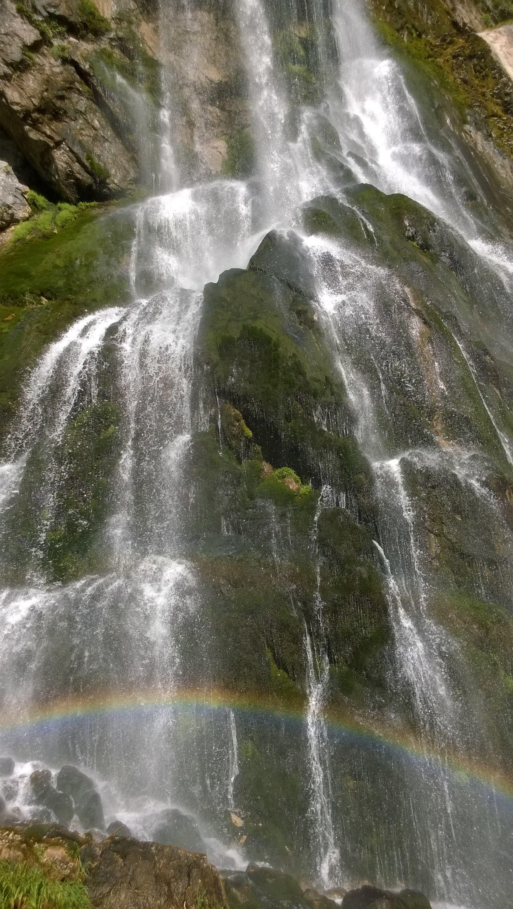 «Радужный» водопад